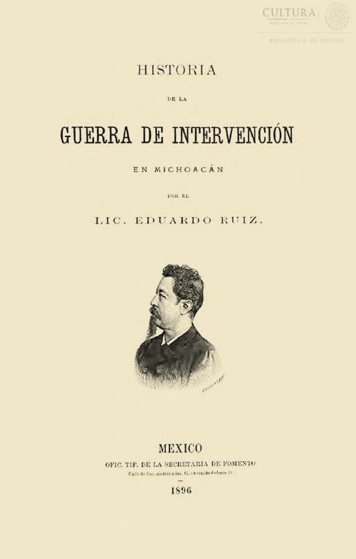 Imagen de Historia de la Guerra de Intervención en Michoacán