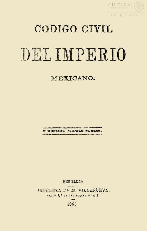 Imagen de Código civil del imperio mexicano. Tomo 3