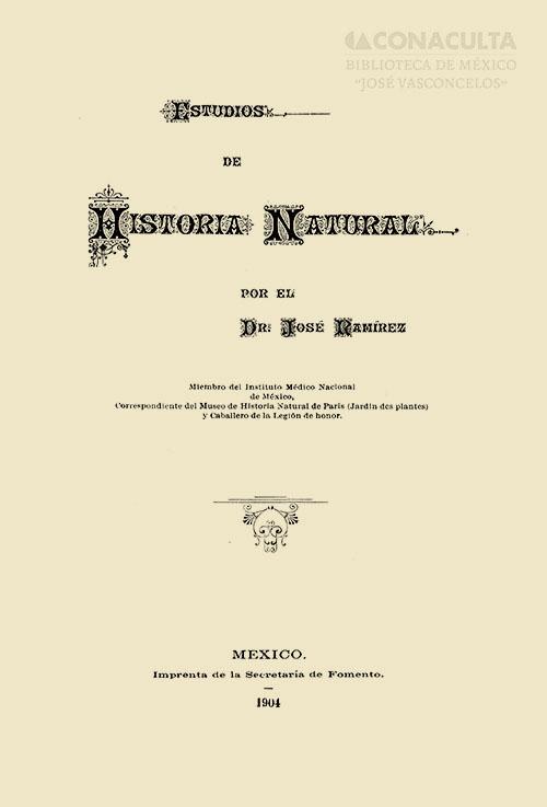 Imagen de Estudios deHistoriaNatural