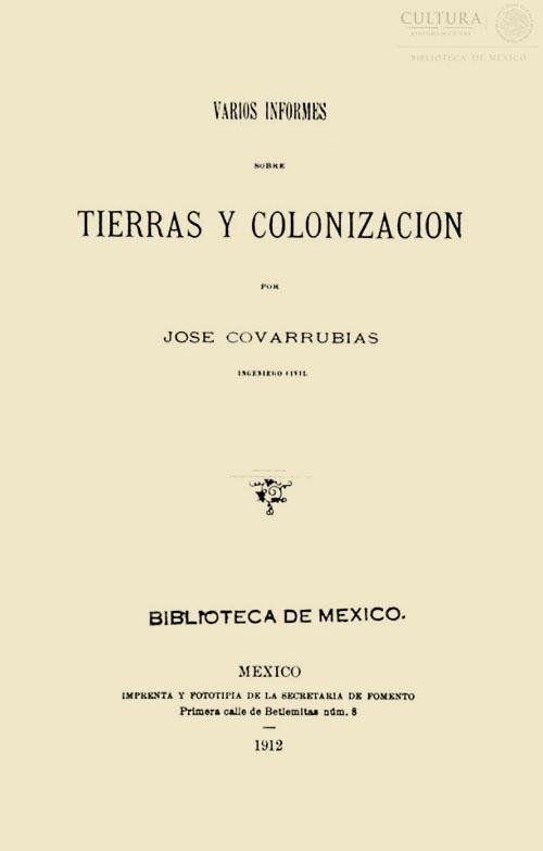Imagen de Varios infromes sobre tierras y colonización