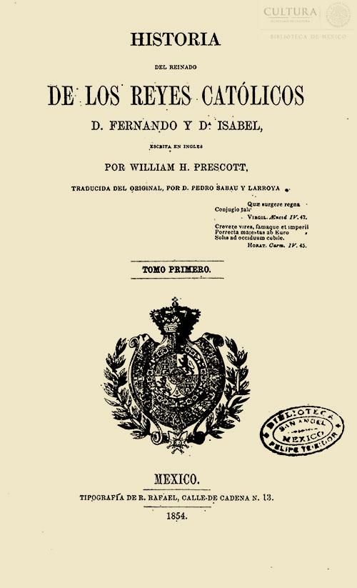 Imagen de Historia del reinado de los Reyes Católicos D. Fernando y Da. Isabel, Tomo 1