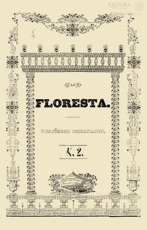 Imagen de La floresta. Periódico semanario de ciencias, artes, historia y amena literatura