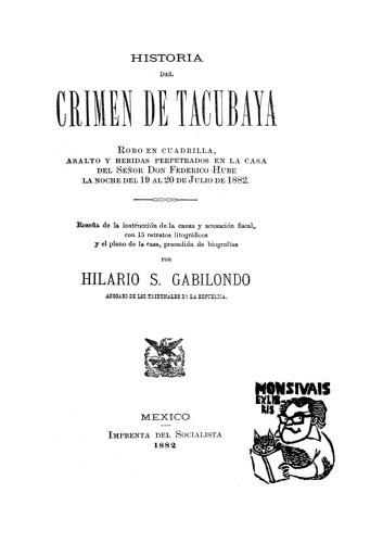 Imagen de Historia del Crimen en Tacubaya