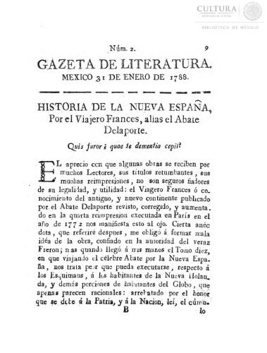 Imagen de Gazeta de literatura, número 2