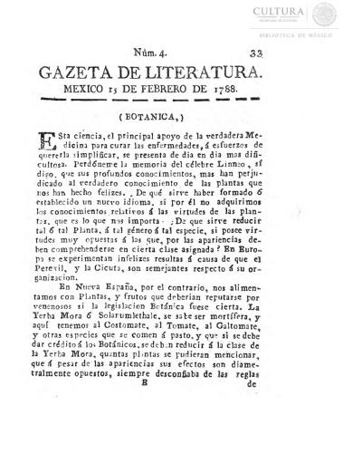 Imagen de Gazeta de literatura, número 4