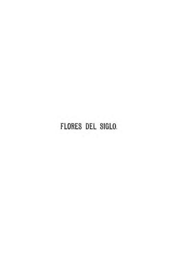 Imagen de Flores del siglo :albúm de poesías selectas de las más distinguidas escritoras americanas y españolas