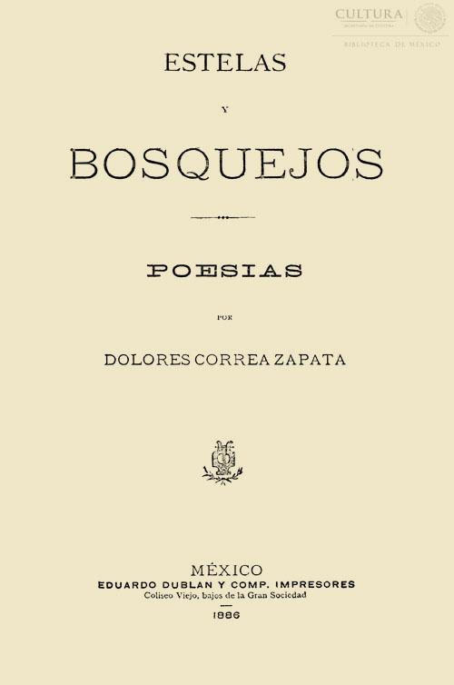 Imagen de Estelas y bosquejos : poesías