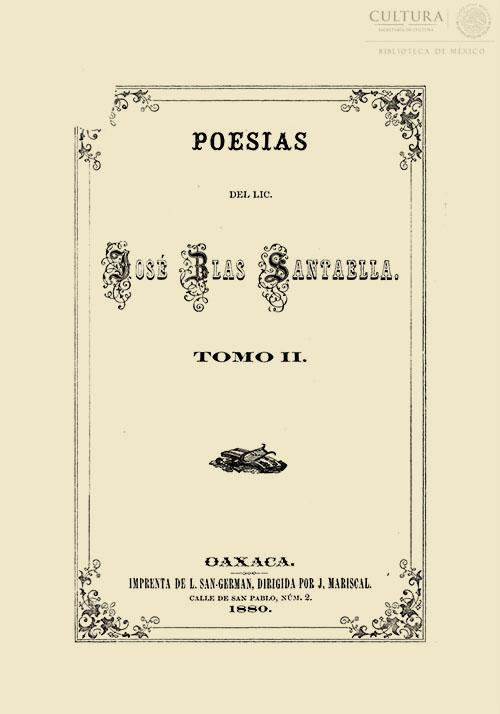 Imagen de Poesías / José Blas Santaella