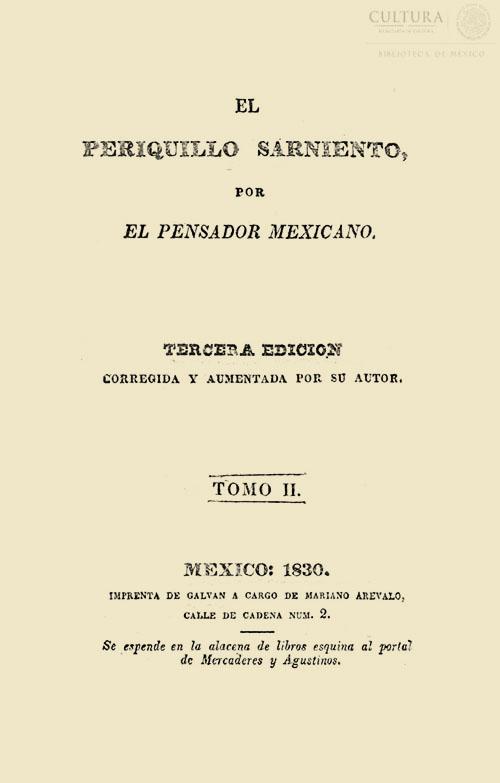 Imagen de El Periquillo Sarniento. Tomo 2