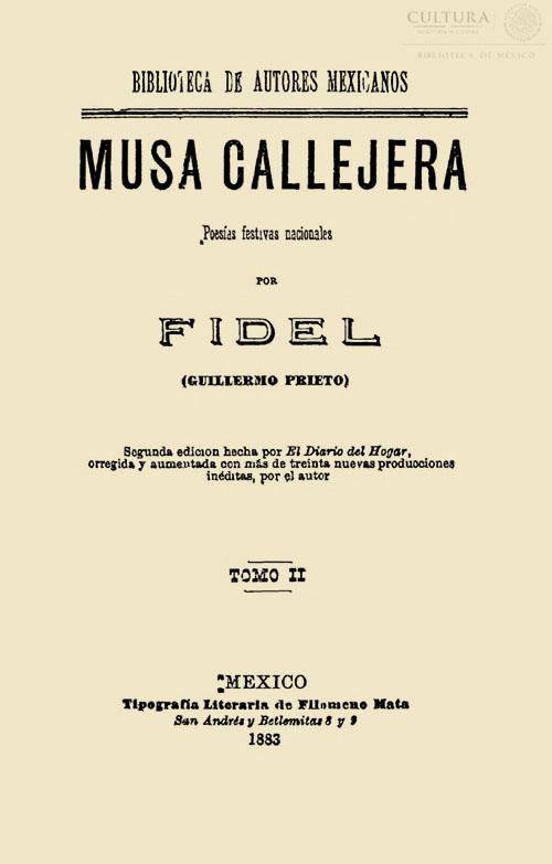 Imagen de Musa callejera: poesías festivas nacionales / Tomo 2