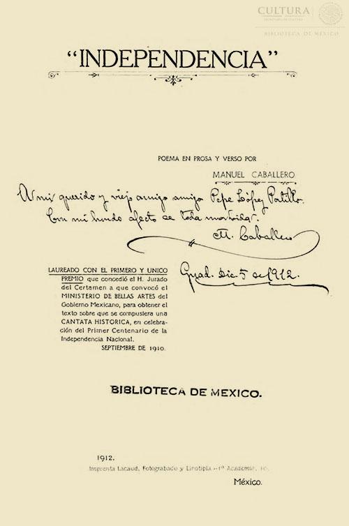 Imagen de Independencia : poema en prosa y verso