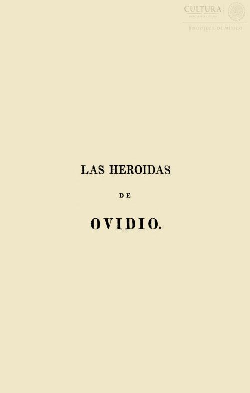 Imagen de Las heroidas. Tomo 2