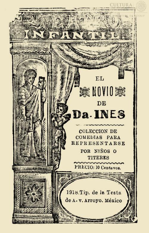 Imagen de Teatro infantil: coleccion de comedias para representarse por niños o títeres. El novio de doña Inés
