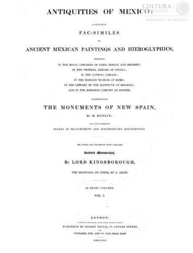 Imagen de Antiquities of Mexico, Tomo 1