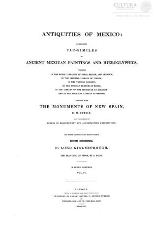 Imagen de Antiquities of Mexico, Tomo 4