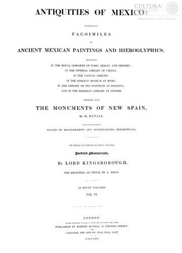 Imagen de Antiquities of Mexico, Tomo 6