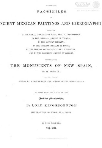 Imagen de Antiquities of Mexico, Tomo 8