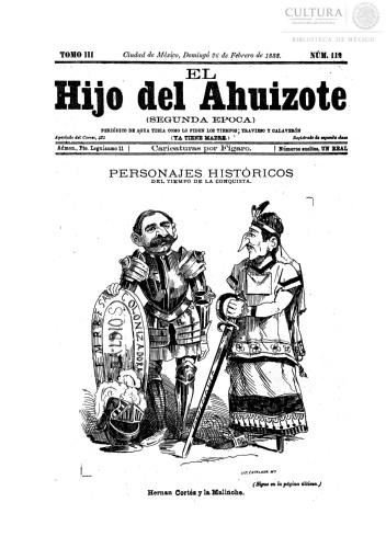 Imagen de El hijo del Ahuizote : semanario feroz. Número 112