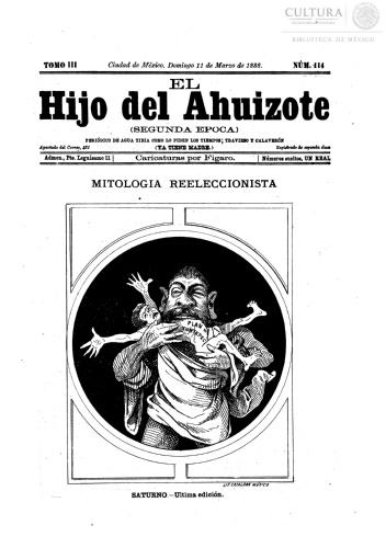 Imagen de El hijo del Ahuizote : semanario feroz. Número 114