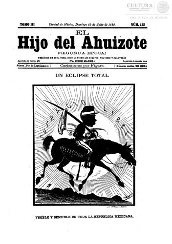 Imagen de El hijo del Ahuizote : semanario feroz. Número 133