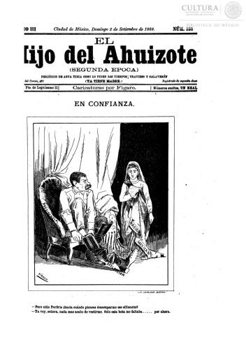 Imagen de El hijo del Ahuizote : semanario feroz. Número 138