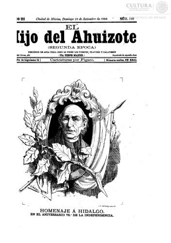 Imagen de El hijo del Ahuizote : semanario feroz. Número 140
