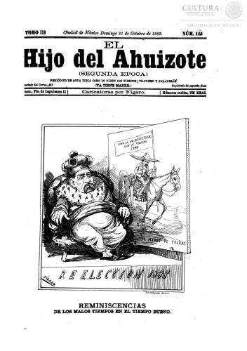 Imagen de El hijo del Ahuizote : semanario feroz. Número 145