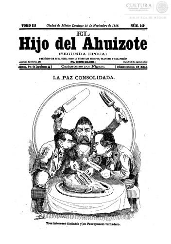 Imagen de El hijo del Ahuizote : semanario feroz. Número 149