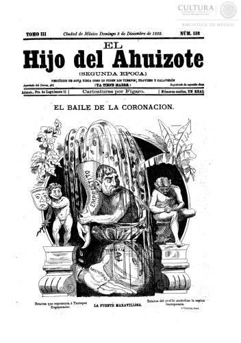 Imagen de El hijo del Ahuizote : semanario feroz. Número 152