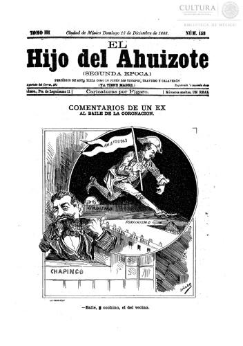 Imagen de El hijo del Ahuizote : semanario feroz. Número 153