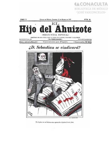 Imagen de El hijo del Ahuizote : semanario feroz. Número 28
