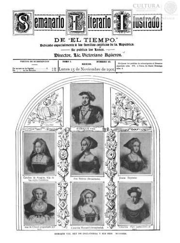Imagen de El tiempo literario ilustrado : semanario de literatura, historia, bellas artes, variedades, etc. Número 48