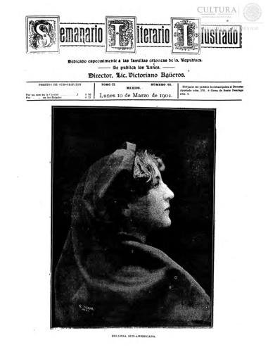Imagen de El tiempo literario ilustrado : semanario de literatura, historia, bellas artes, variedades, etc. Número 63