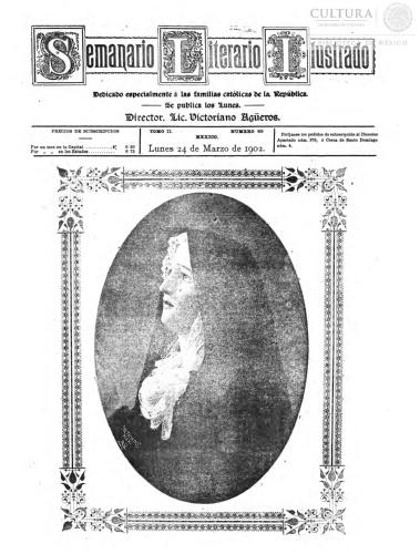 Imagen de El tiempo literario ilustrado : semanario de literatura, historia, bellas artes, variedades, etc. Número 65