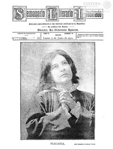 Imagen de El tiempo literario ilustrado : semanario de literatura, historia, bellas artes, variedades, etc. Número 78