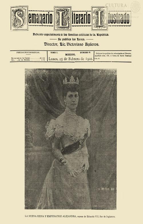 Imagen de El tiempo literario ilustrado : semanario de literatura, historia, bellas artes, variedades, etc. Número 9