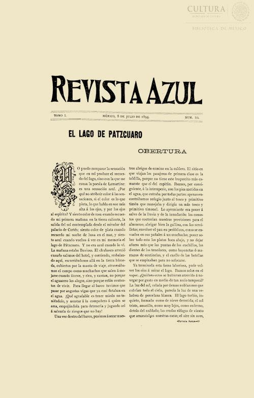 Imagen de Revista Azul, Tomo 10
