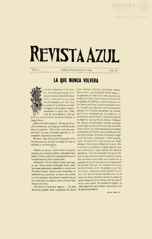 Imagen de Revista Azul, Tomo 26