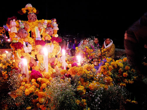Imagen de Tumba de flores