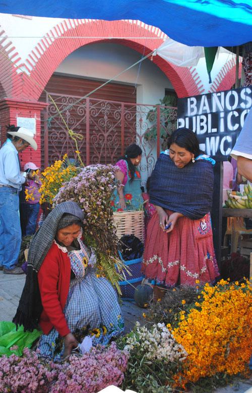Imagen de Mercado de Tlacolula, 31 de octubre 2010