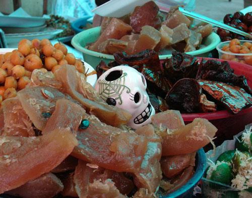 Imagen de Ricos dulces típicos para ofrenda de muertos