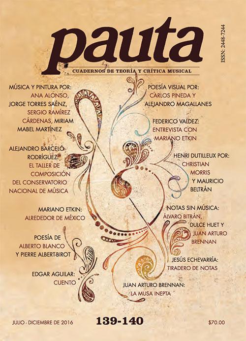 Imagen de Pauta 139-140. Cuadernos de teoría y crítica musical