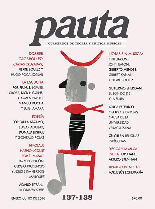 Imagen de Pauta 137-138. Cuadernos de teoría y crítica musical