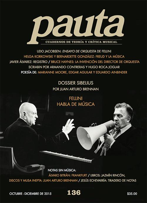 Imagen de Pauta 136. Cuadernos de teoría y crítica musical