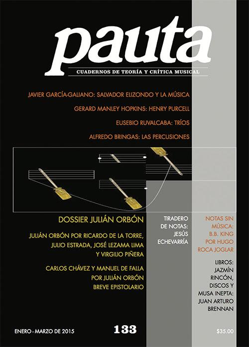 Imagen de Pauta 133. Cuadernos de teoría y crítica musical