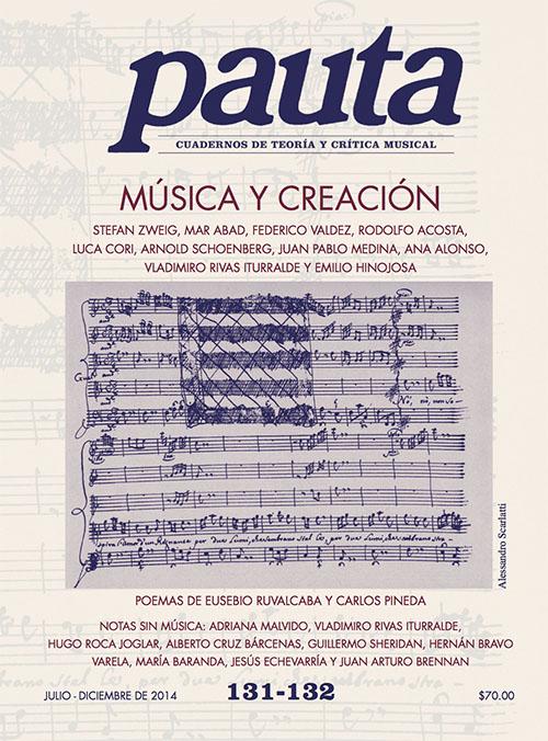 Imagen de Pauta 131-132. Cuadernos de teoría y crítica musical