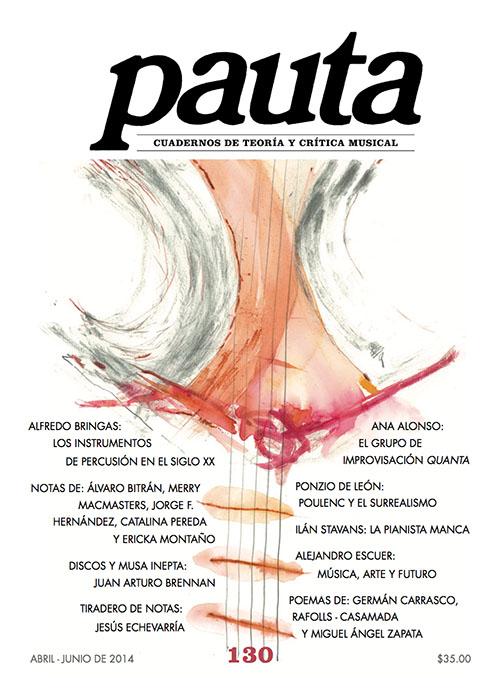 Imagen de Pauta 130. Cuadernos de teoría y crítica musical
