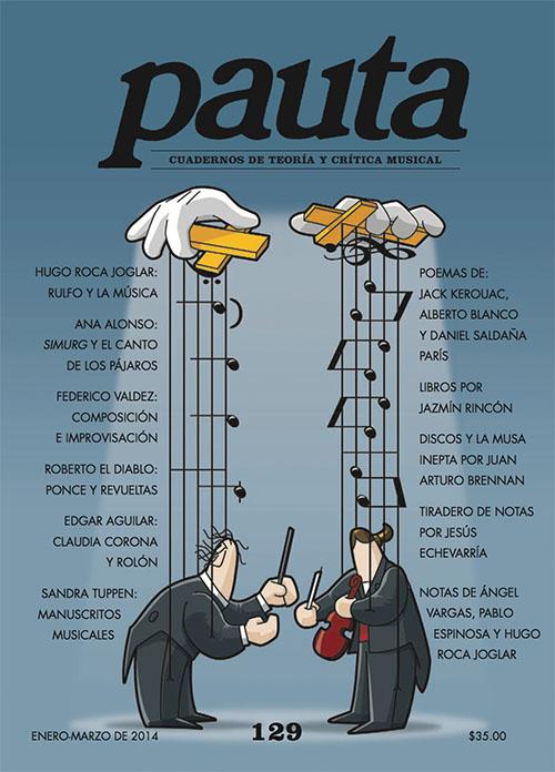 Imagen de Pauta 129. Cuadernos de teoría y crítica musical