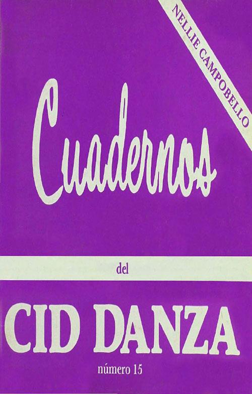 Imagen de Cuadernos del CID Danza, número 15. Nellie Campobello