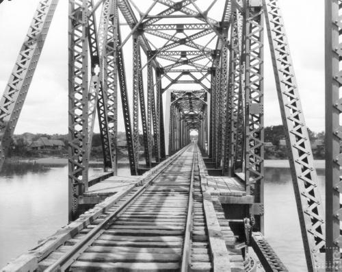 Imagen de Paso interior del puente en el río Papaloapan